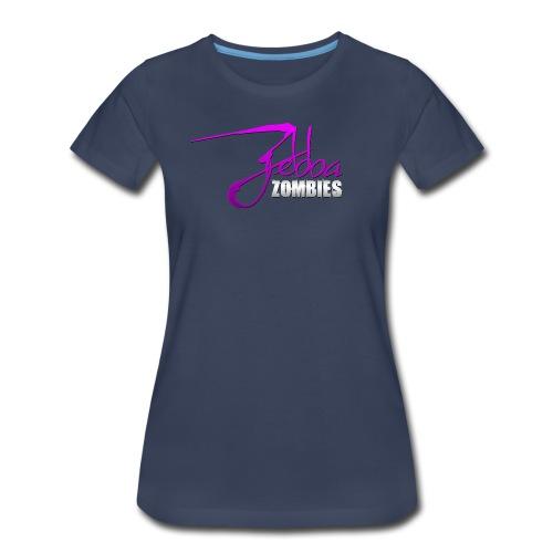 Zebba Zombies Splash Z-Tee - Women's Premium T-Shirt