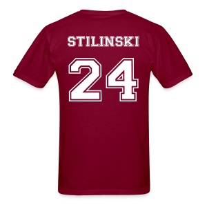 Stilinski 24 Back Tee - Men's T-Shirt