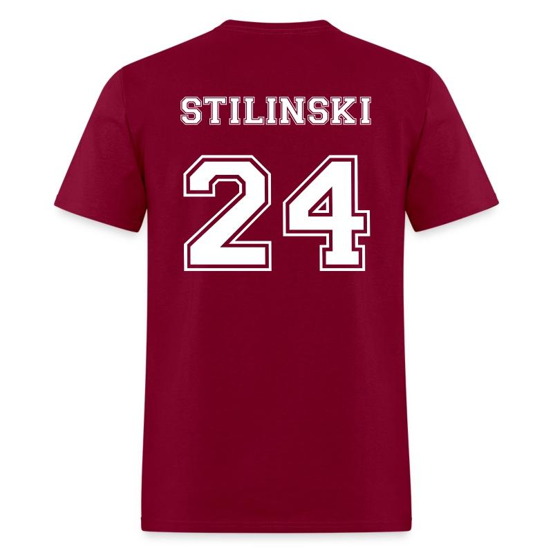 Stilinski 24 Back Tee - Men's T-Shirt