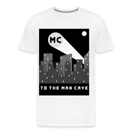Man Cave 2 - Men's Premium T-Shirt