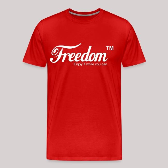 8946578ea7a Freedom Coca Cola Coke Parody T shirt