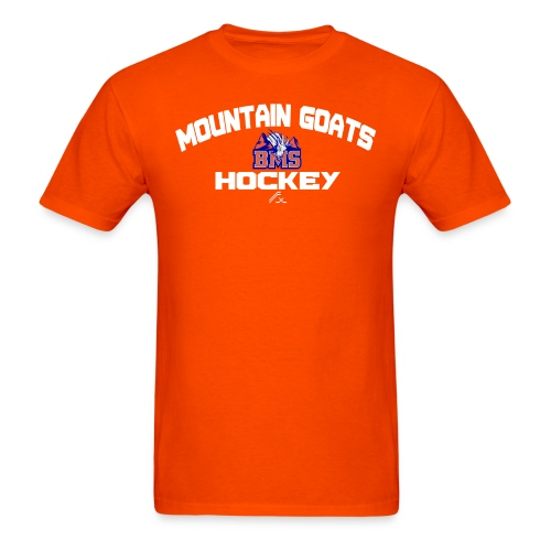 BMS Mountain Goats Center Ice T-Shirt - Men's T-Shirt