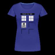 Women's T-Shirts ~ Women's Premium T-Shirt ~ Women's Bigger on the Inside
