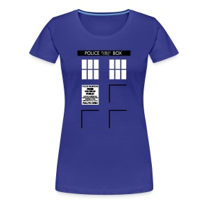 Women's Bigger on the Inside - Women's Premium T-Shirt
