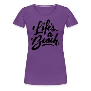 beach shirt - Women's Premium T-Shirt