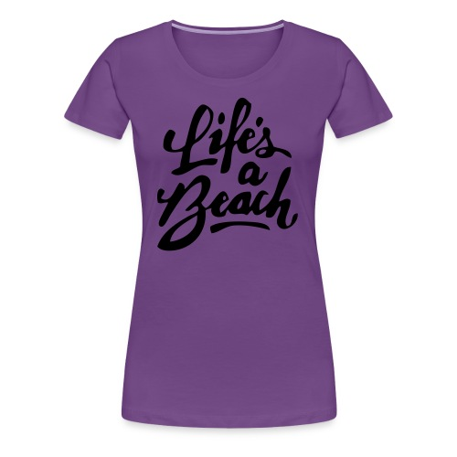 beach shirt - Women's Premium T-Shirt