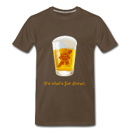 T-Shirts ~ Men's Premium T-Shirt ~ Stay At Home Son - It's What's For Dinner