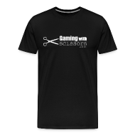 T-Shirts ~ Men's Premium T-Shirt ~ Gaming With Scissors