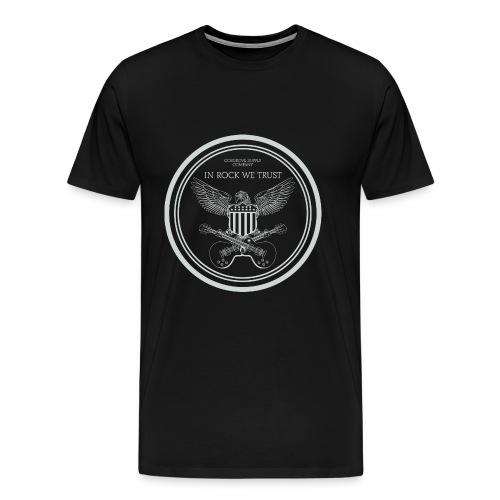 In Rock We Trust - Men's Premium T-Shirt