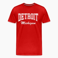 Detroit Michigan T-Shirts