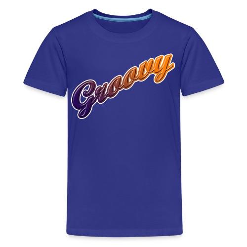 Groovy Kid's Standard Weight T-Shirt - Kids' Premium T-Shirt