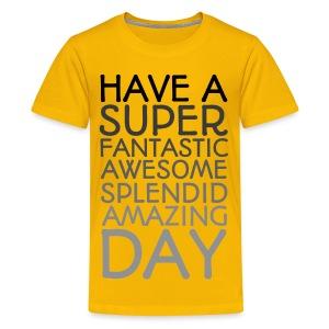 Amazing Day Tee - Kids' Premium T-Shirt