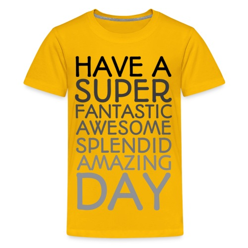 Amazing Day Tee - Kids' Premium T-Shirt