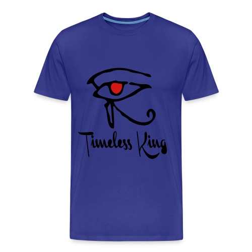 Timeless King Eye of Horus Tee - Men's Premium T-Shirt