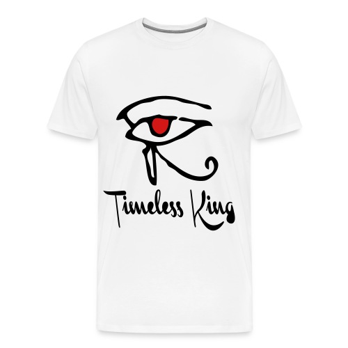 Timeless King Eye of Horus 3X/4X Tee - Men's Premium T-Shirt