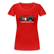 Women's T-Shirts ~ Women's Premium T-Shirt ~ Character Fitted shirt