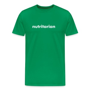 Nutritarian T (Free Color) - Men's Premium T-Shirt