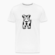 Spotted Parson Russell Terrier T-Shirts