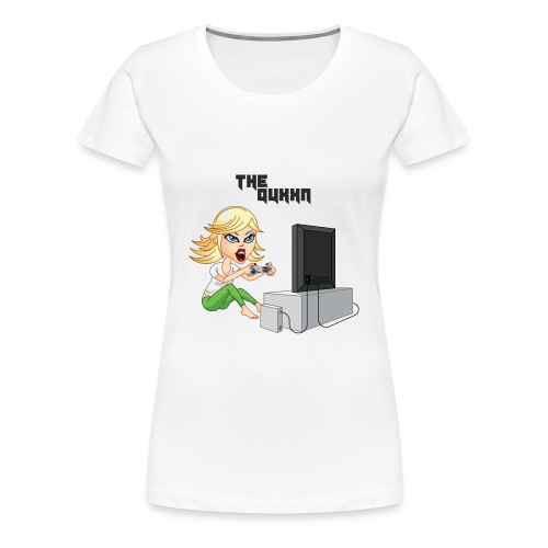 Gamer Girl Tee - Women's Premium T-Shirt