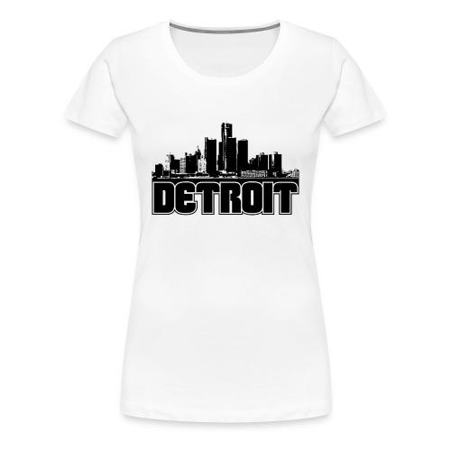 border city - Women's Premium T-Shirt