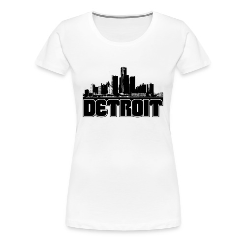 border city - Women's Premium T-Shirt