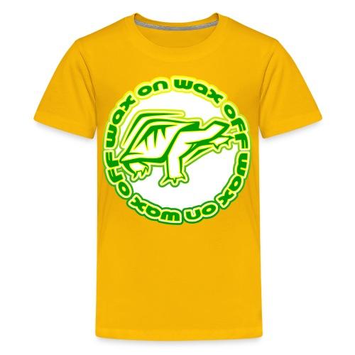 Wax On Wax Off Kid's T-Shirt - Kids' Premium T-Shirt