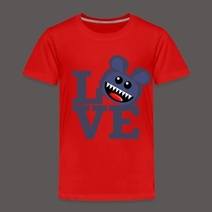 SAVAGE BEAR LOVE - Toddler Premium T-Shirt