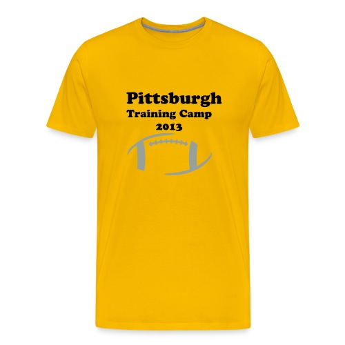 Pittsburgh Training Camp 2013 - Men's Premium T-Shirt