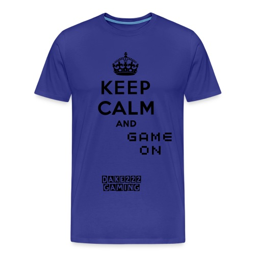 Keep Calm and Game On Shirt - Men's Premium T-Shirt
