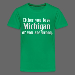 Michigan or Wrong - Kids' Premium T-Shirt