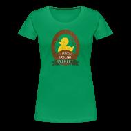 Women's T-Shirts ~ Women's Premium T-Shirt ~ Women's Duckling