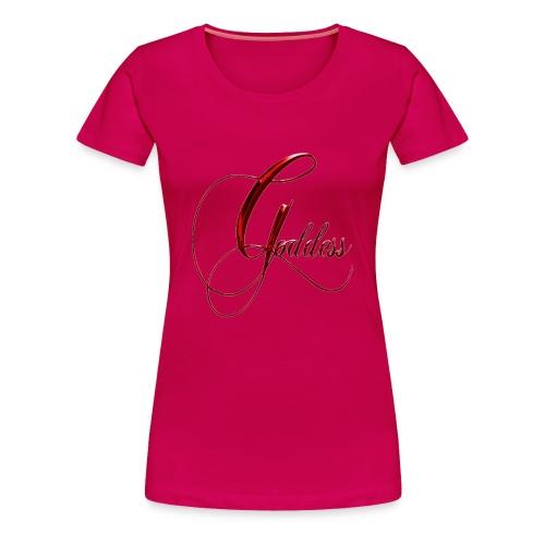 Goddess Elegant Plus Size - Women's Premium T-Shirt