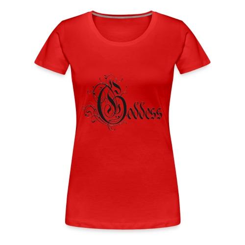 Goddess Black Pirate Plus Size - Women's Premium T-Shirt