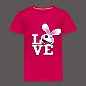SAVAGE BUNNY LOVE - Toddler Premium T-Shirt