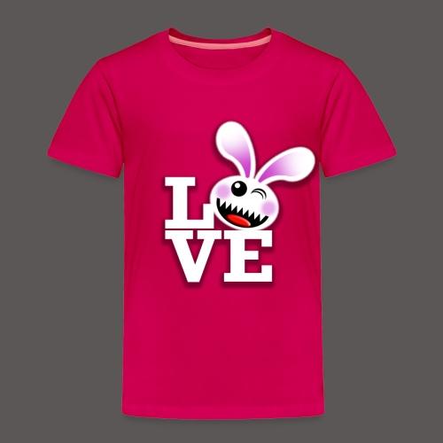 SAVAGE BUNNY LOVE - Toddler Premium T-Shirt