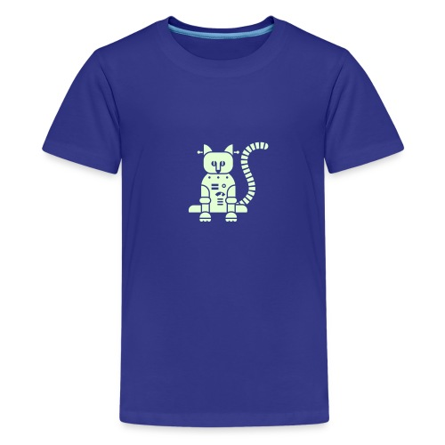 Glow Catbot - Kids' Premium T-Shirt