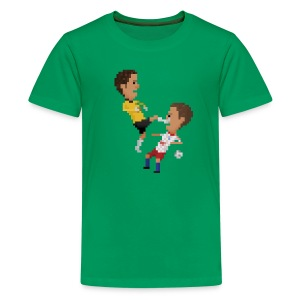Kids T-Shirt - Kungfu goalkeeper from Bremen - Kids' Premium T-Shirt