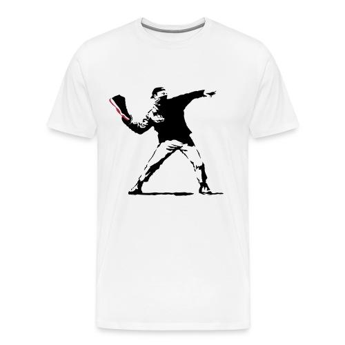 BRED 11 Thrower - Men's Premium T-Shirt
