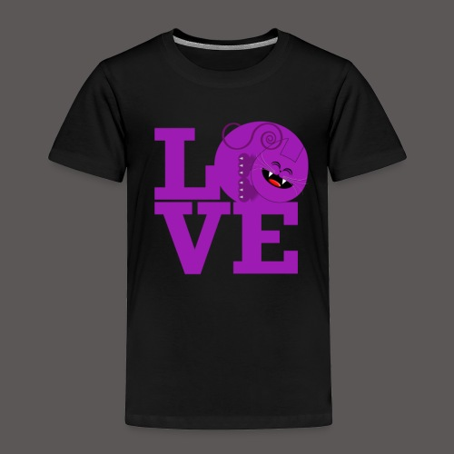 SAVAGE CAT LOVE - Toddler Premium T-Shirt