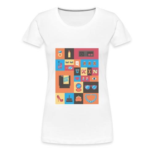 Girly Gamer Things Tee - Women's Premium T-Shirt
