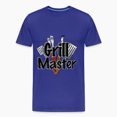The Grill Master with BBQ Tools