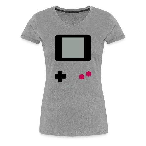 Women's Press Start - Women's Premium T-Shirt