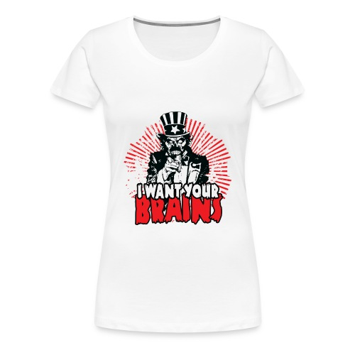 uncle sam - Women's Premium T-Shirt