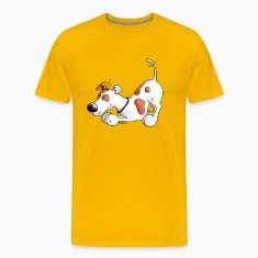 Jack Russell Terrier - dog - t-shirt design T-Shirts