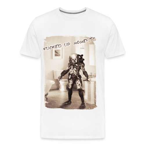 Fucked Up moments - Predator - Men's Premium T-Shirt