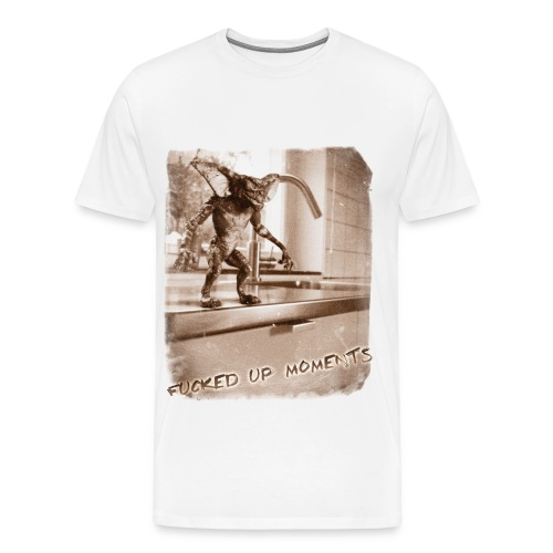 Fucked Up moments - gremlin - Men's Premium T-Shirt