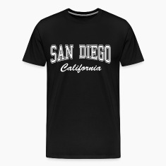 San Diego California T-Shirts