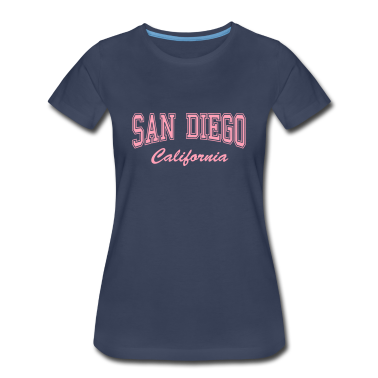 San Diego California Women's T-Shirts