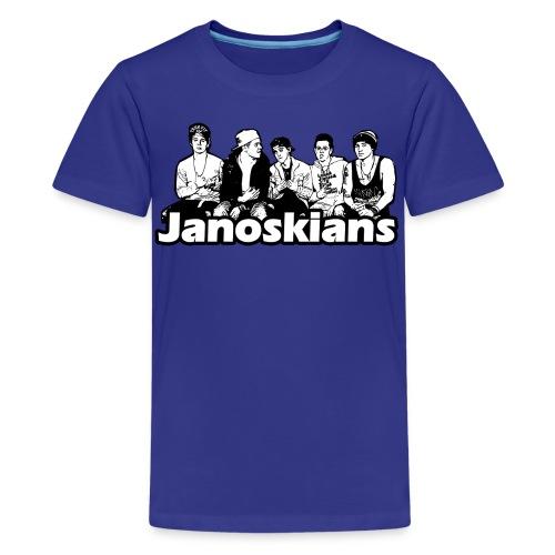 JANOSKIANS BAND LOGO - Kids' Premium T-Shirt