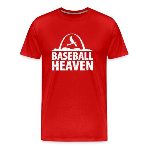St. Louis is Baseball Heaven - Men's Premium T-Shirt